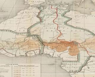 خريطة المغرب ومقص الاستعمار