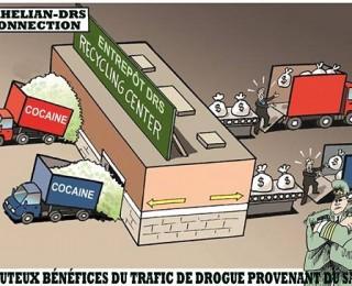 ساسة الجزائر بمخدراتها الصلبة وحبوب الهلوسة التي ينشرها الجنرالات