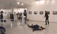 اغتيال السفير الروسي بالرصاص في أنقرة ( +فيديو)