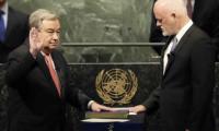 غوتيريس يؤدي اليمين ويتعهد بإصلاح الأمم المتحدة