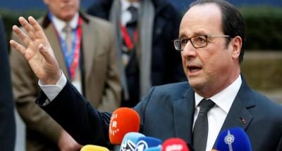 رئيس فرنسا هولاند يندد بعدم وفاء روسيا بتعهداتها في حلب