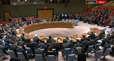 مجلس الأمن يدعم مشروع قرار روسي لوقف القتال بسوريا