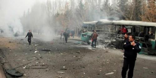 تركيا :عشرات القتلى والجرحى بتفجير قيصري