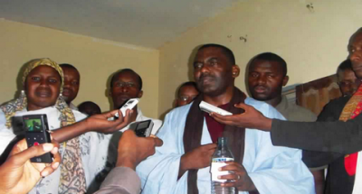 """موريتانيا: عودة زعيم حركة   """" إيرا """"  تربك النظام الحاكم"""