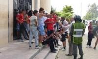 جامعة كرة القدم تفتح تحقيقا في أعمال الشغب التي عرفتها مدينة الحسيمة