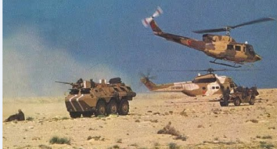 مناورات عسكرية مشتركة بين الجيش المغربي  وقوات المارينز الأمريكية في الجنوب