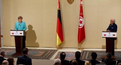 إتفاق بين ميركل وقايد السبسي على ترحيل 1500 مهاجر تونسي غير نظامي