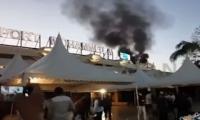 إندلاع حريق مهول  بمطار محمد الخامس قبل قليل (فيديو)