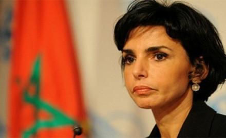 رشيدة داتي (الوزيرة السابقة) تحل بالدار البيضاء لدفن جثمان والدها