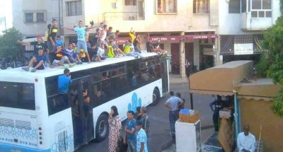 فاس: تخريب أزيد من 13 حافلة وإرسال ثلاث مراقبين ومواطنة للمستعجلات