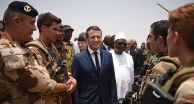 الرئيس الفرنسي ماكرون يدين الدور المزدوج للجزائر في محاربة الإرهاب في مالي
