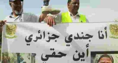 النظام العسكري الجزائري الإرهابي يقمع أكثر من 20 ألف عسكري سابق معطوب وعاجز