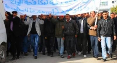 حصار قمعي شديد على البليدة لمحاصرة إحتجاج عناصر جيش التعبئة