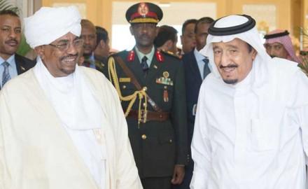 ملك السعودية يبحث مع البشير في المغرب العلاقات الثنائية
